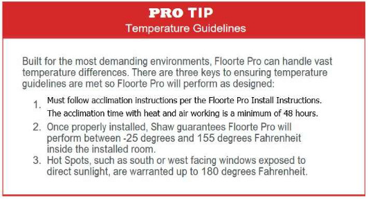 Floorte Pro Installation Tips